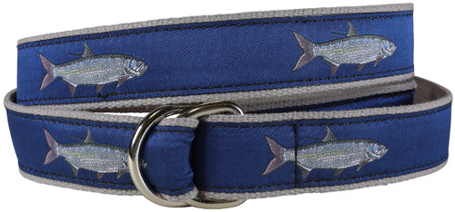 Tarpon D-ring Belt - Blue
