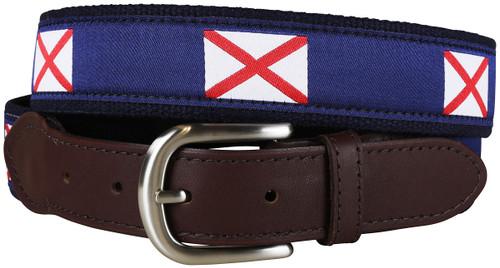 Alabama State Flag Belt