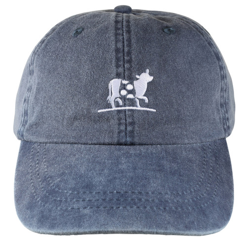 Belted Cow Hat | Washed Navy