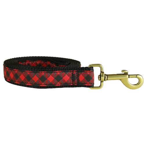 Buffalo Plaid Dog Lead | 1 Inch