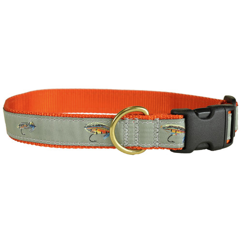 "Megan Boyd Flies 1"" Dog Collar"