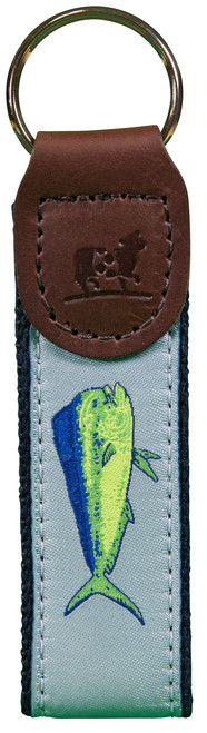 Dolphinfish Key Fob