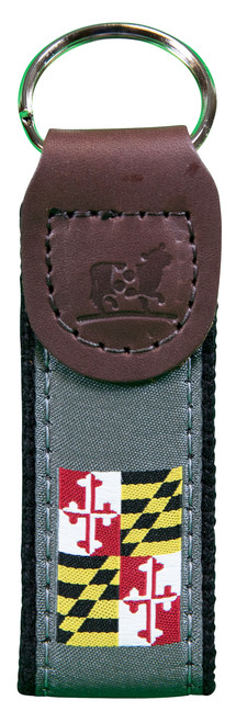 Maryland State Flag Key Fob