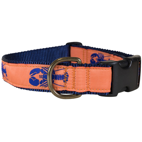 Lobster Dog Collar - Melon - 1.25 Inch