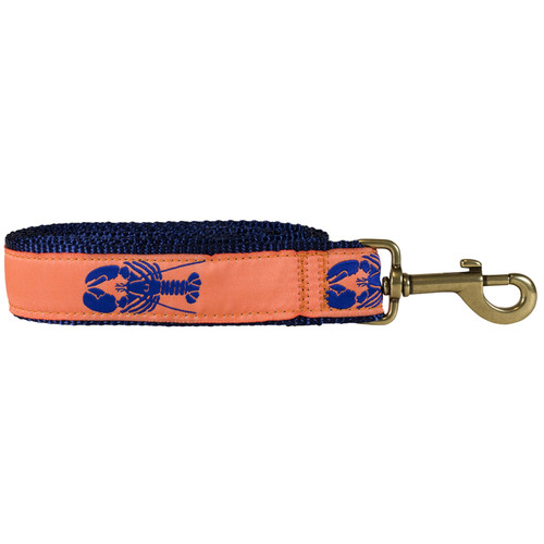 Lobster Dog Lead - Melon  - 1.25 Inch