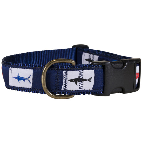 Fish Flags Dog Collar | 1.25 Inch