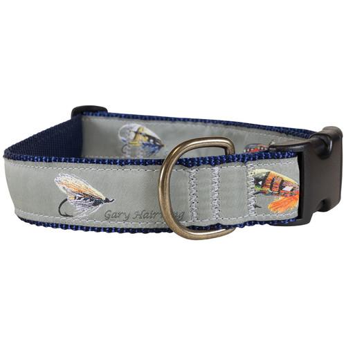 Megan Boyd Flies Dog Collar - 1.25 Inch