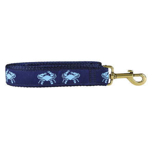 Crab Dog Lead - Blue  - 1.25 Inch