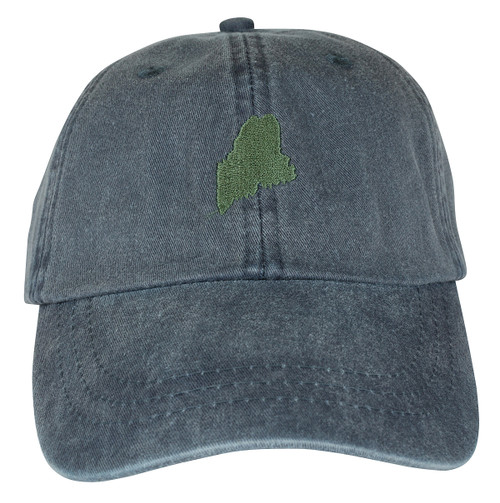 State of Maine Hat - Washed Navy