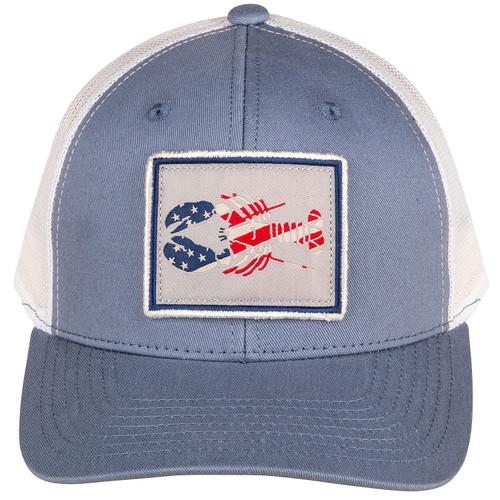 Patriotic Trucker Lobster Hat