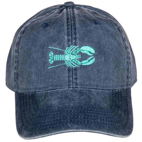 Lobster Hat | Washed Navy & Mint