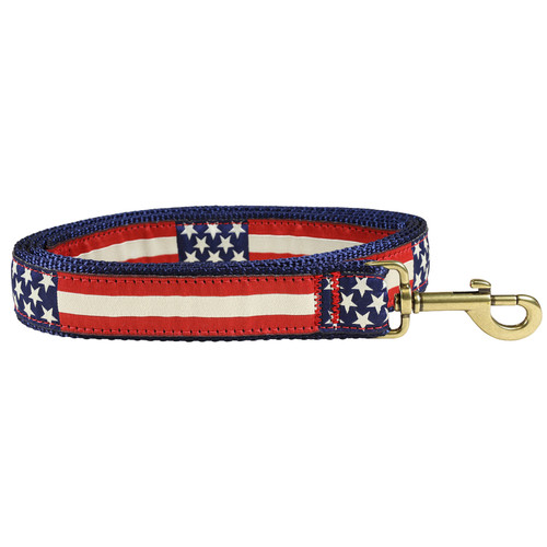 Retro Flag Dog Lead - 1.25 Inch