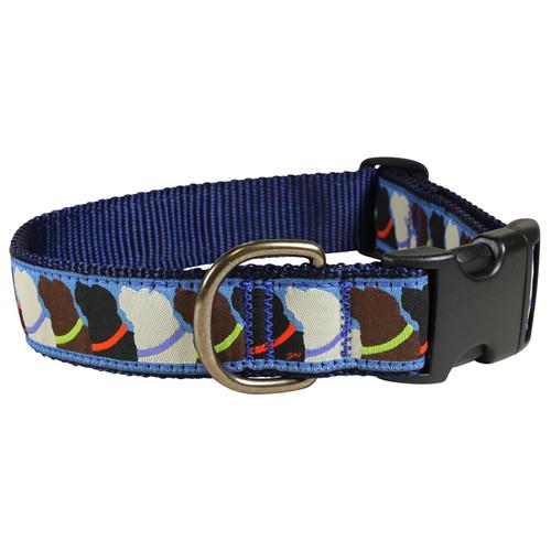 """Who Wants Treats 1.25"""" Dog Collar"""