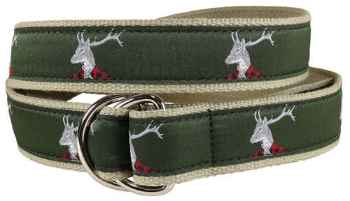 Dapper Stag D-Ring Belt