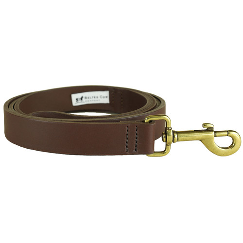Leather Dog Lead - 1 Inch