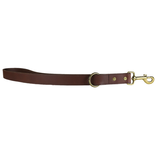 Leather Dog Traffic Lead - 1 Inch