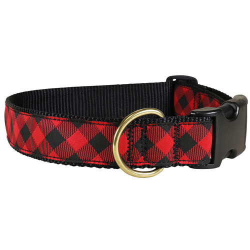 Buffalo Plaid Dog Collar - 1.25 Inch