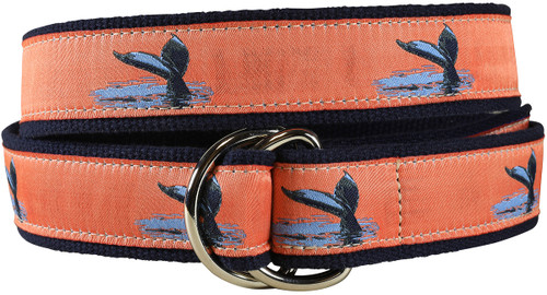 Whale Tail D-ring Belt