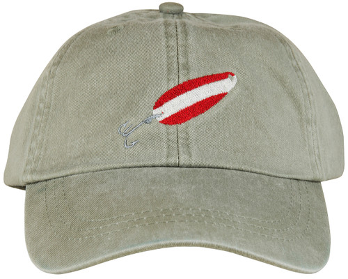 Red Devil Lure Hat - Stone