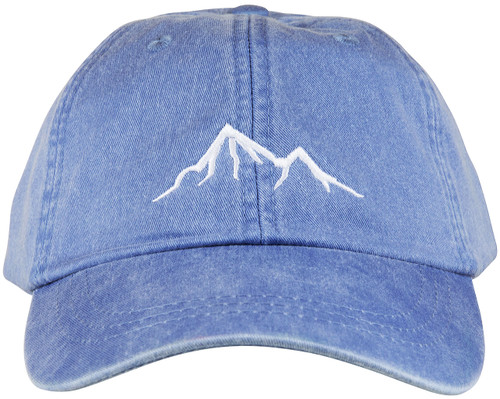 Mountain Peak Hat - Periwinkle