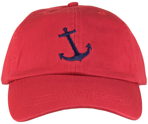Anchor Hat - Red