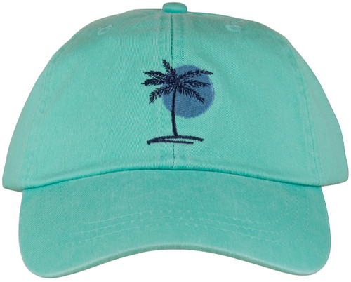 Palm & Sun Hat - Sea Foam