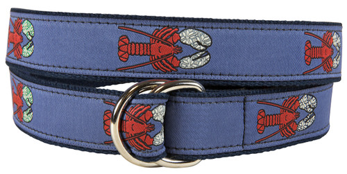 Lobster with Mittens D-ring Belt