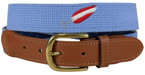 Bermuda Embroidered Belt - Red Devil Lure