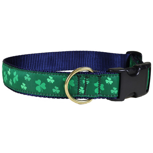 Shamrock Dog Collar - 1.25 Inch