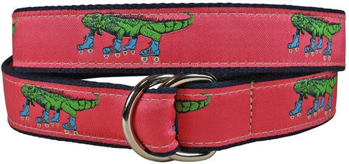Iguana on Roller Skates D-Ring Belt