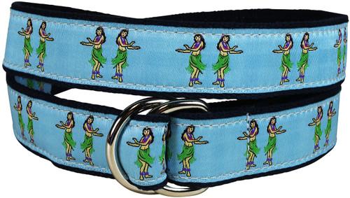 Hula Girls D-ring Belt
