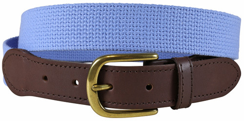 Cotton Webbing Belt | Sky Blue