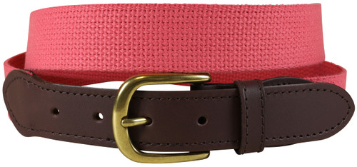 Cotton Webbing Belt | Pomegranate