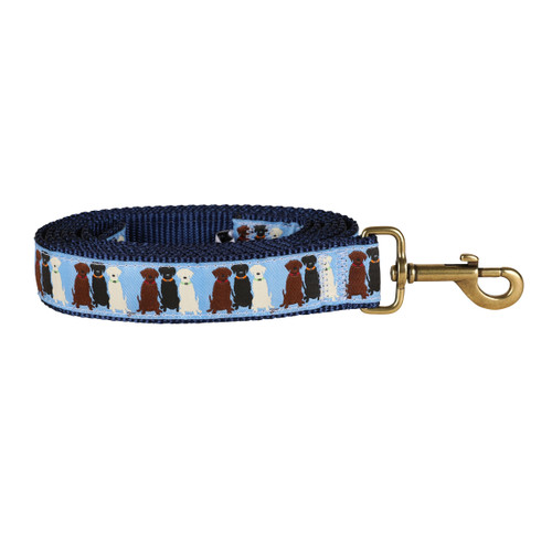 "Light Blue Three labs 1.25"" Dog Lead"