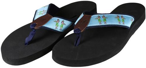 Hula Girls Flip Flops