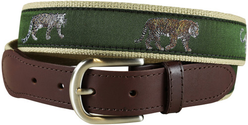 Big Cats Tab Belt