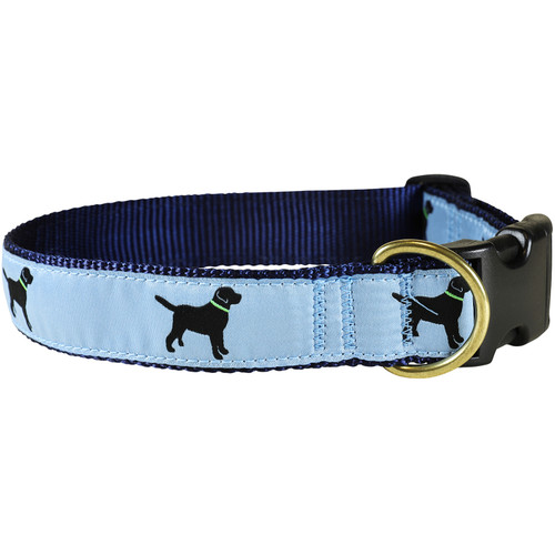 Labs Dog Collar - Dusty Blue - 1.25 Inch