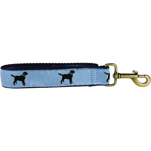 Labs Dog Lead - Dusty Blue  - 1.25 Inch