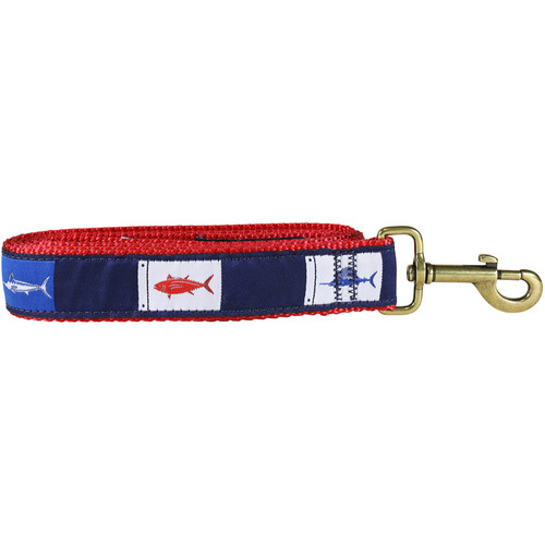 Fish Flags Dog Lead - 1.25 Inch