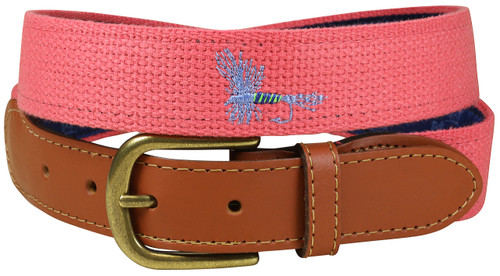 Embroidered Bermuda Belt - Fly