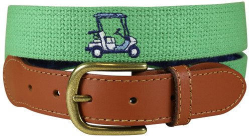 Bermuda Embroidered Belt | Golf Cart