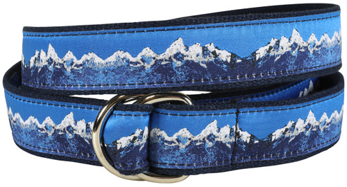 Mountain Range D-ring Belt