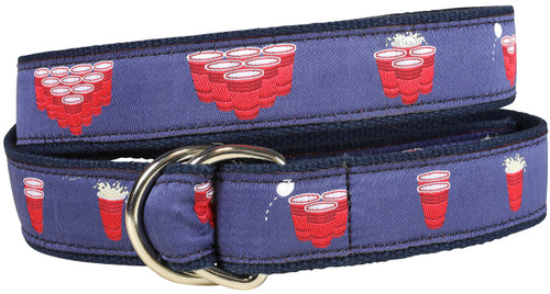 Beer Pong D-Ring Belt