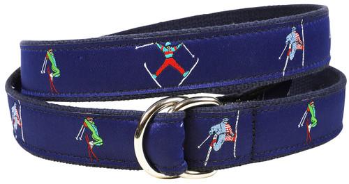 Retro Skier D-ring Belt