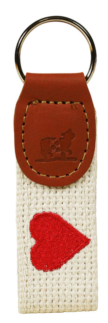 Valentines Key Fob | Red