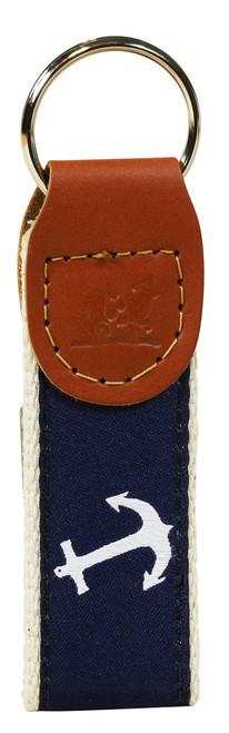 Anchor Key Fob - Navy