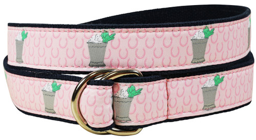 Mint Julep D-Ring Belt