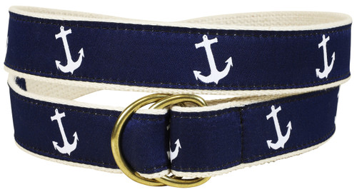 Classic Anchor D-ring Belt