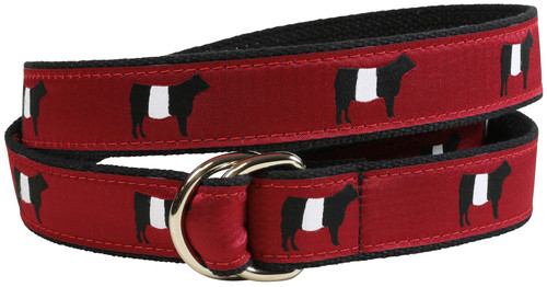 Belted Galloway D-Ring Belt