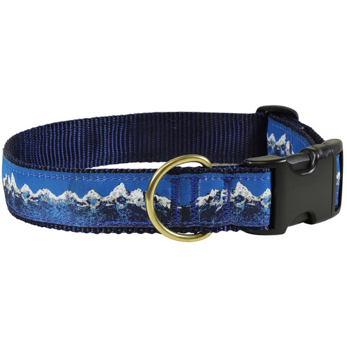 "Mountain Range 1.25"" Dog Collar"
